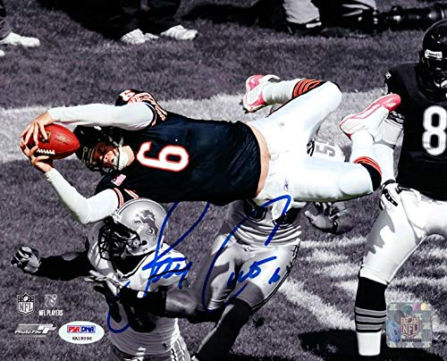 Jay Cutler Autographed Photograph - 8x10 Stock #102502 - PSA/DNA Certified - Autographed NFL Photos