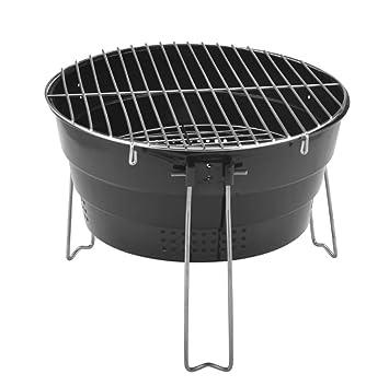 CZALBL Parrilla del BBQ, Parrilla Plegable del Acero ...