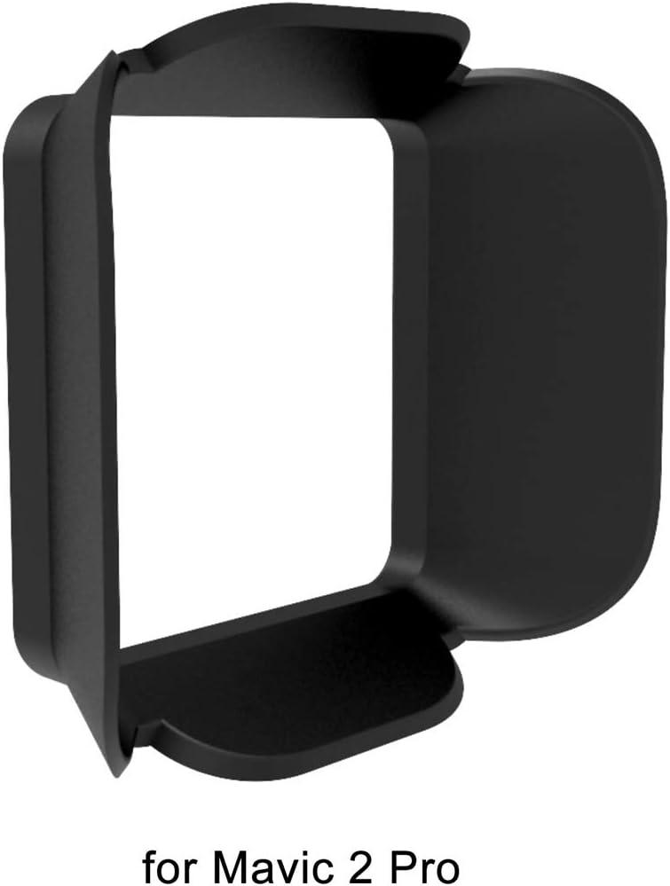 HONGYI Mavic 2 Camera Lens Sun Hood Cover Sun Shade Anti-Glare Sunshade Gimbal Camera Protector for DJI Mavic 2 Pro Spare Parts Lens Cover Accessories Color : for Mavic 2 pro