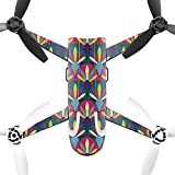 MightySkins Protective Vinyl Skin Decal for Parrot Bebop 2 Quadcopter Drone wrap cover sticker skins Bold Tile
