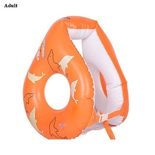 Eruditter - Anillo de natación Unisex Hinchable para Adulto con ...