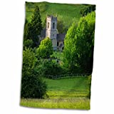 3dRose Danita Delimont - Churchs - 5th Century St Andrews Church, Naunton, Gloucestershire, England - 12x18 Hand Towel (twl_207763_1)