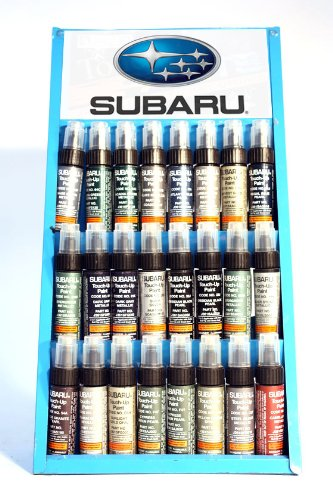 GENUINE SUBARU TOUCH UP PAINT - 83N - TIMBERLINE GREEN PEARL