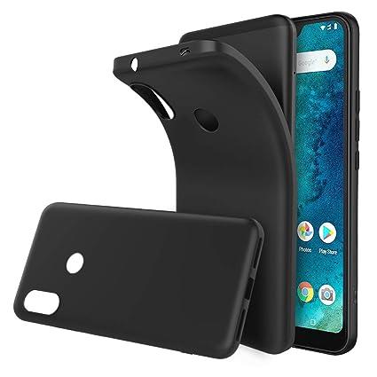 Simpeak Funda Compatible Xiaomi A2 Lite, Funda Xiaomi A2 Lite Carcasa A2 Lite Gel Silicona Premium TPU Case,Nergo