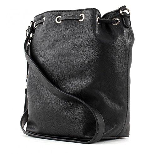 GUESS - Tasche ANDIE Crossbody Drawstring black, VG633829-BLA