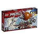LEGO NINJAGO IlTempiodellaFolliaImperiale, Set da Costruzione con 6 Minifigure, Giocattoli Ninja per Bambini, 71712  LEGO
