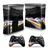 MightySkins Protective Vinyl Skin Decal Cover for Microsoft Xbox 360 S Slim + 2 Controller skins wrap sticker skins Speed Review