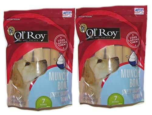 Munchy Chews (Ol' Roy Munchy bone Greek Yogurt 20 oz 2 pack)