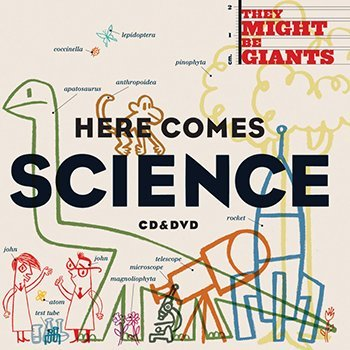 Flipside Here Comes Science Cd/dvd Set By