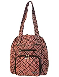 Jenni Chan Brush Strokes Soft Gym Tote, Red