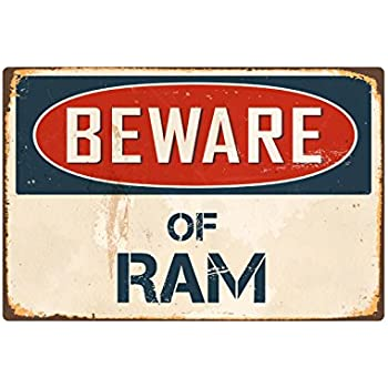 "Beware Of Emu 8/"" x 12/"" Vintage Aluminum Retro Metal Sign VS157"