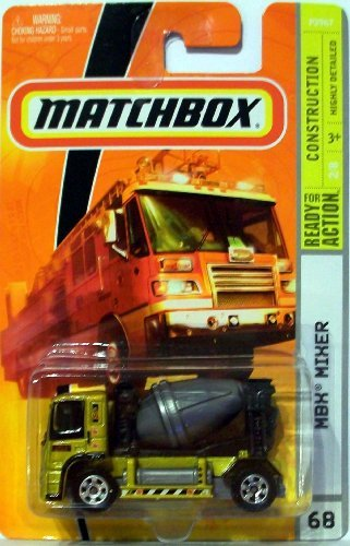 Matchbox 2009 #68 MBX Mixer 1:64