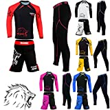 #4: ROAR MMA Rash Guards BJJ Shorts Jiu Jitsu Spatt Legging Gym Fitness Grappling Pants