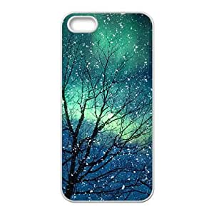 Iphone 5,5S Northern Lights Phone Back Case Use Your Own Photo Art Print Design Hard Shell Protection FG080200