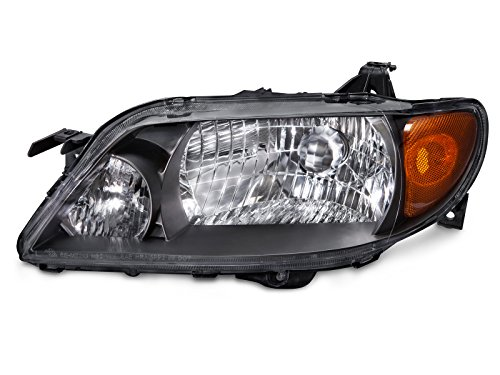 Mazda Protege 4-Door Sedan Metal Bezel Drive Headlight (03 Mazda Protege 4 Door)