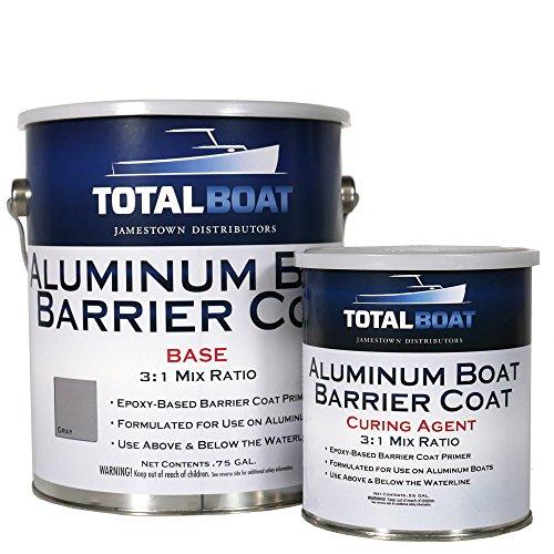 Gray Gallon - TotalBoat Aluminum Boat Barrier Coat (Gallon, Gray)