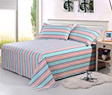 BEIRU Old Coarse Summer Mat Three-piece Bedding Bed Single Air Conditioning Seating Kit ZXCV (Color : 3, Size : 200230cm)
