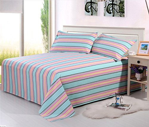 BEIRU Old Coarse Summer Mat Three-piece Bedding Bed Single Air Conditioning Seating Kit ZXCV (Color : 3, Size : 200230cm) by BEIRU