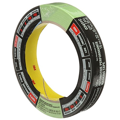 3M 3431 18 mm x 32 m Automotive Performance Masking Tape ()