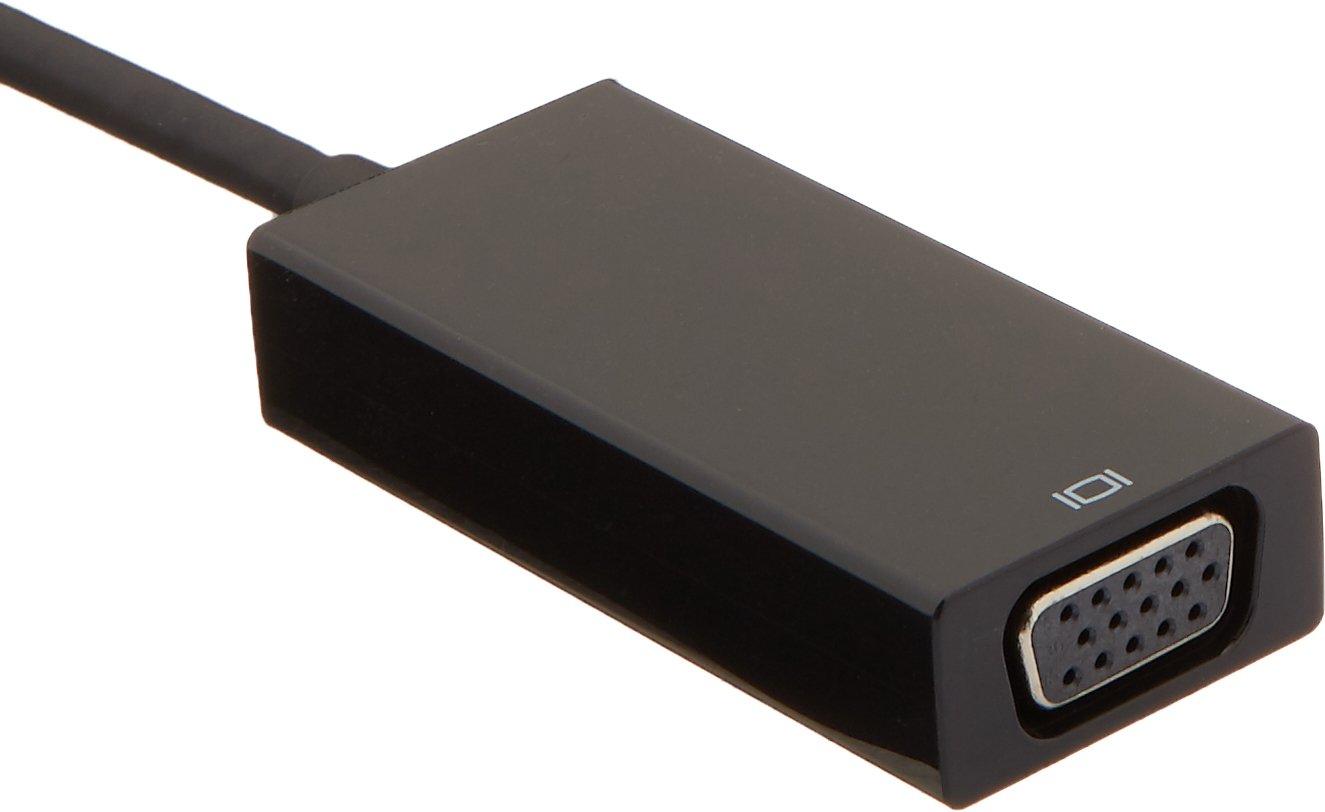 AmazonBasics USB 3.1 Type-C to VGA Adapter - Black by AmazonBasics (Image #2)