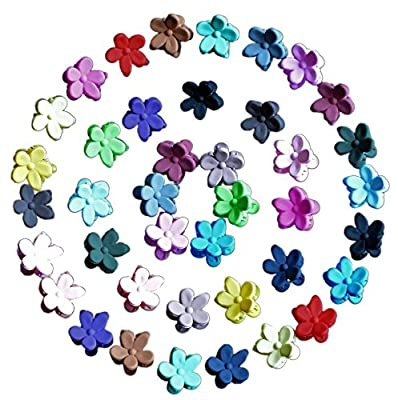 ZaoProteks ZP1101 40 Pcs Hair Bangs Mini Hair Claw Clip , Hair Pin, Hair Accessories Clips for Little Girl, Girls Teens, Teens Kids, Toddlers Children