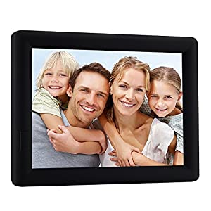 ChaoRong 7x5inch Talking Photo Frame For Picture With 20s Voice Recorder (Black)