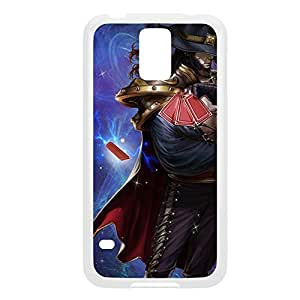 TwistedFate-005 League of Legends LoL case cover Ipod Touch 4 - Plastic White