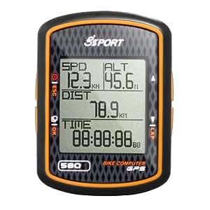 GPS Bici GlobalSat GB-580B para bicicleta Bike computer track - Altímetro computador para bicicleta entrenamiento - GPS SiRF Star III LPx pantalla de alta resolución - Soporte WAAS / ENGOS