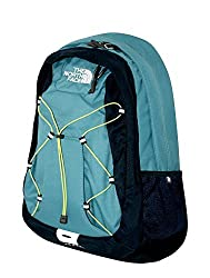 The North Face Womens Jester Laptop Backpack Book Bag Storm Blue