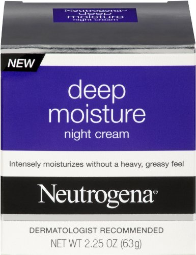 Neutrogena Deep Moisture Night, 2.25 Ounce