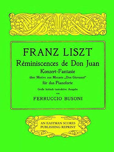 - Reminiscences de Don Juan; Konzert-Fantasie uber Motive aus Mozarts Don Giovanni
