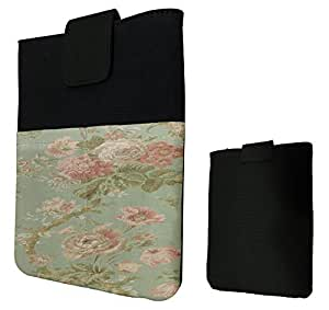 Cute Vintage shabby Chic Pink Floral Roses Design Fashion Trend Sleeve For All Apple ipad mini / Samsung Galaxy Tab 3 7'' / Tab 3 8'' / Tab 4 7'' / Tab 4 8'' / All Amazon Kindle Fire Hd 7'' HD 8'' / All Kindle Fire HDX 7'' HDX 8'' Case Pouch Sleeve Holder Cover-Black by ruishername