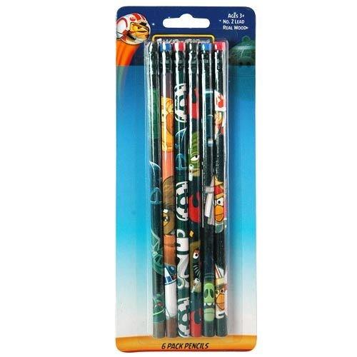 Angry Birds Star Wars 6pk Wood Pencil