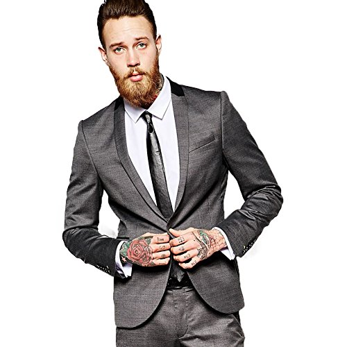 Costume Fashion Homme (Sipei Men Suits Slim Fit Tuxedo Suit Costume Homme Business Formal)