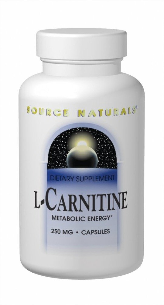 海外直送品 Source Naturals L-Carnitine, Fumerate 60 Caps 250 MG B005Y2Y1P4