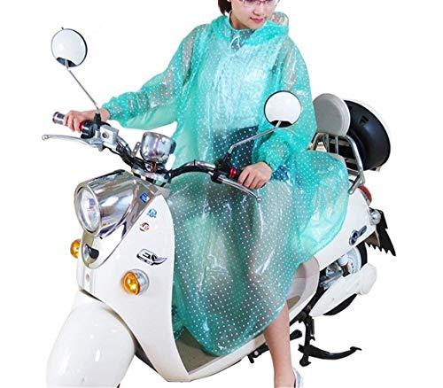 Rainboys Q Precioso Poncho Fashion Impermeable Ropa Mujeres Capucha Transparente 3 Con Saoye xHq5BwYw