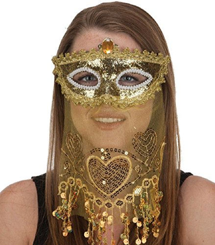Gold  (Girls Harem Or Belly Dancer Costumes)