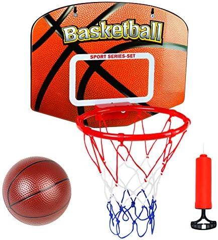 Canasta Baloncesto Infantil Juguetes para Niños Mini Canasta Baloncesto Oficina Exterior Interior con Balon y Inflador Juegos Educativos Regalo Para Niña Niño 5 6 7 8 Años: Amazon.es: Juguetes y juegos