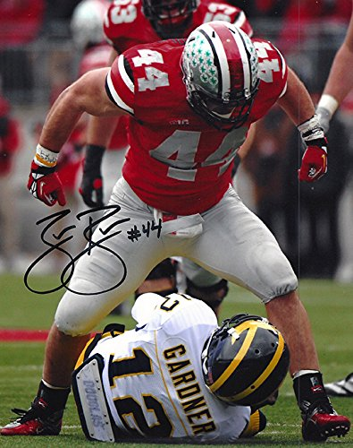 Zach Boren Autographed Ohio State Buckeyes 8x10 Photograph - Sacked Lunch - Certified Authentic - Autographed (Ohio State Buckeyes 8x10 Photo)