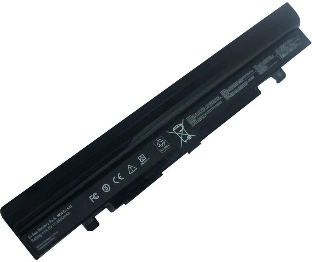 ARyee A42-U46 Battery Compatible with Asus U46 U46E U46J U46Jc U46S U46Sd U46Sm U46Sv U56 U56E U56J U56Jc Model:K53