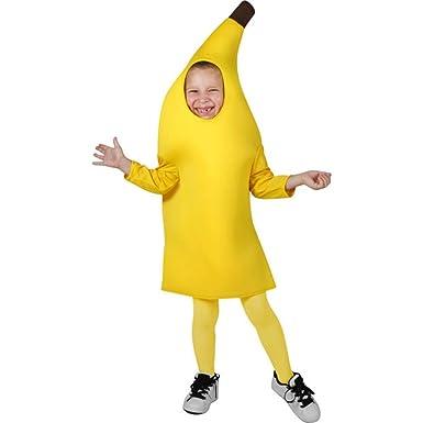Childu0027s Toddler Banana Costume (Size ...  sc 1 st  Amazon.com & Amazon.com: Childu0027s Toddler Banana Costume (Size: 1-2T): Clothing