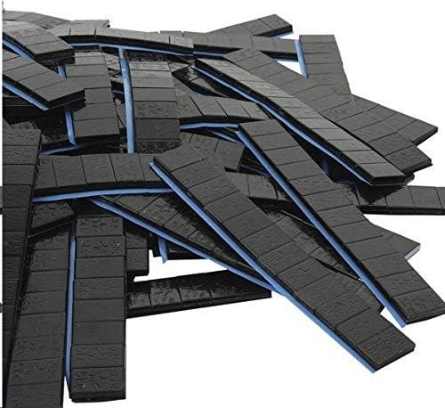 Dwt Germany 100729 100 Je 12 5g Stück Auswuchtgewichte Schwarz 6kg Klebegewichte Stahlgewichte Kleberiegel Abrisskante Verzinkt Riegel Fe Eisen Runde Kante Baumarkt