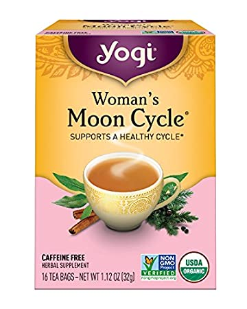 Yogi Tea, Womans Moon Cycle, 16 Count, Packaging May Vary