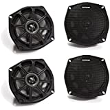 Kicker Motorcycle 5.25 Inch Speaker package 2 ohm version.