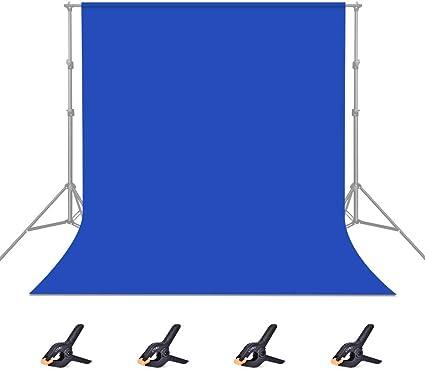 Utebit 1 8x2 8m 6x9ft Bluescreen Hintergrund Blau Kamera