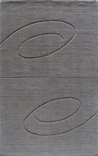 Momeni Rugs METROMT-14LIL3353 Metro Collection, 100% Wool Hand Loomed Contemporary Area Rug, 3'3