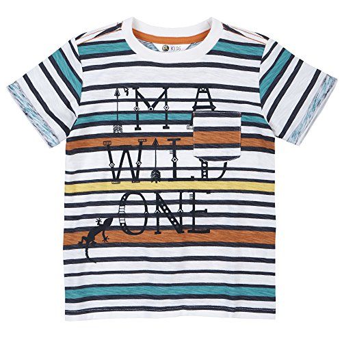 Petit Lem Little Boys Wild Onet Shirt With Pocket  Medium  3