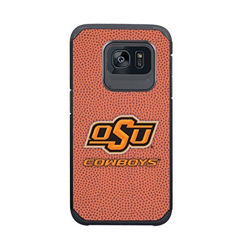 NCAA Oklahoma State Cowboys True Grip Football Pebble Grain Feel Samsung Galaxy S7 Case, ()