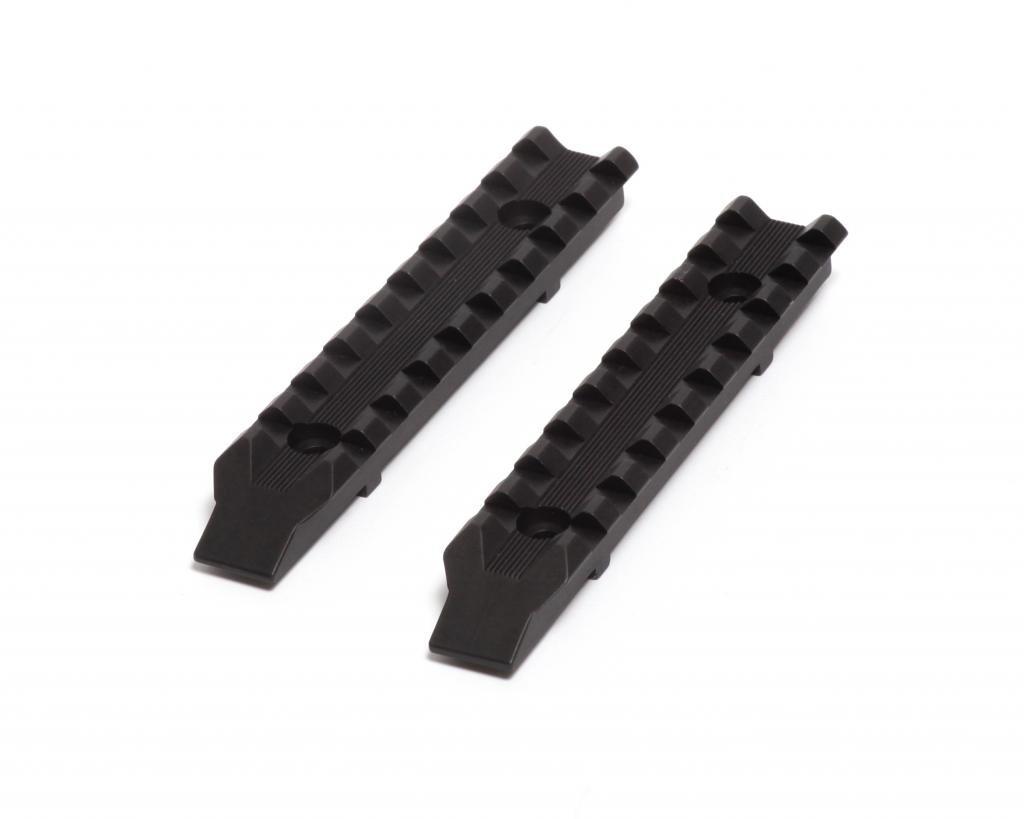 LongShot Black Anodized Aluminum Picatinny Side Rails (set of 2) for Hi-Point 4095TS model carbines