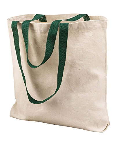 Liberty Bags Marianne Cotton Canvas Tote OS Natural/Forest